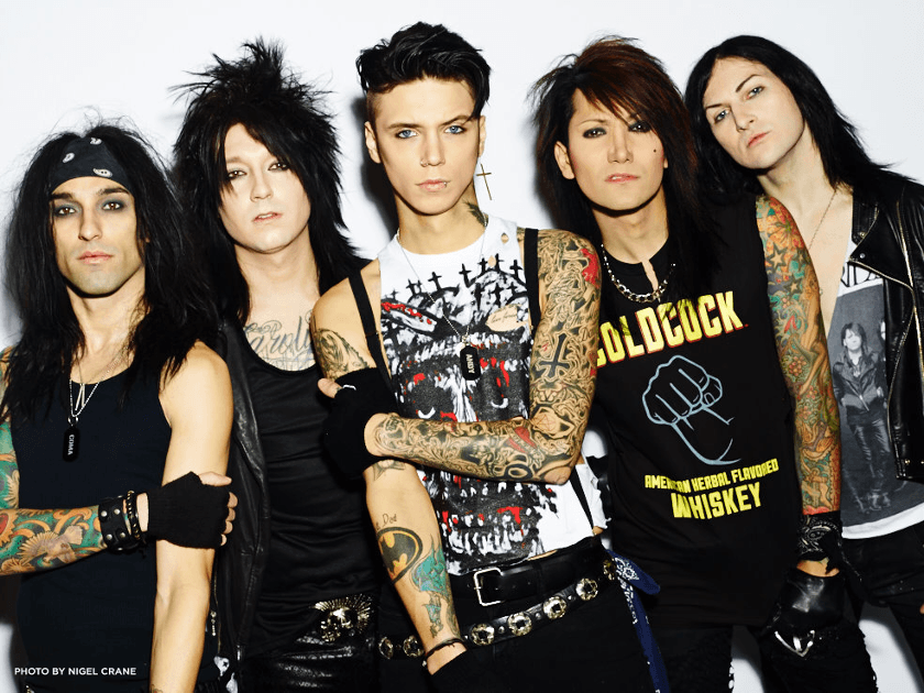 In The End Guitar chords & tabs by Black Veil Brides @ 911Tabs